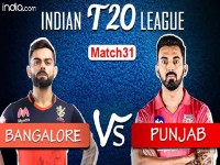 RCB vs KXIP – Match Highlights