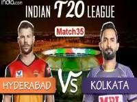 SRH vs KKR – Match Highlights