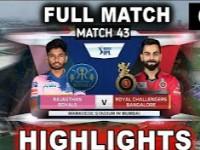 M43: RR vs RCB – Match Highlights